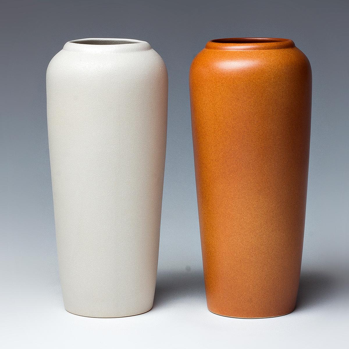 Vase Set Of 2 Glasvase Eckig Klar L 22 X B 8 X H 7 Cm